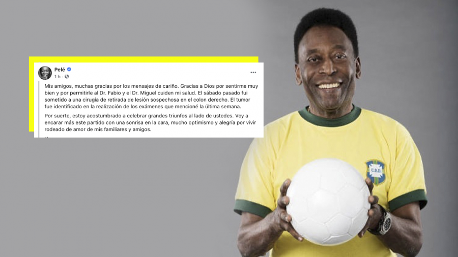 Pelé se encuentra estable tras una cirugía de próstata