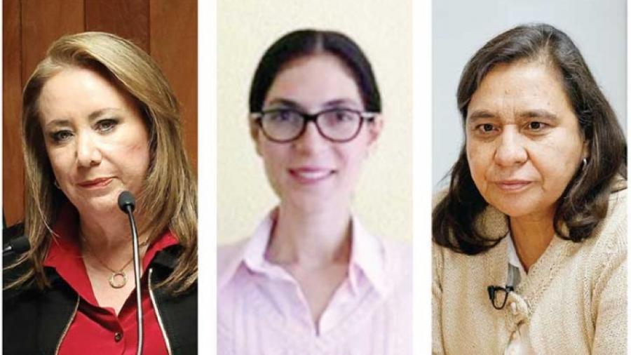 3 candidatas para la Suprema Corte
