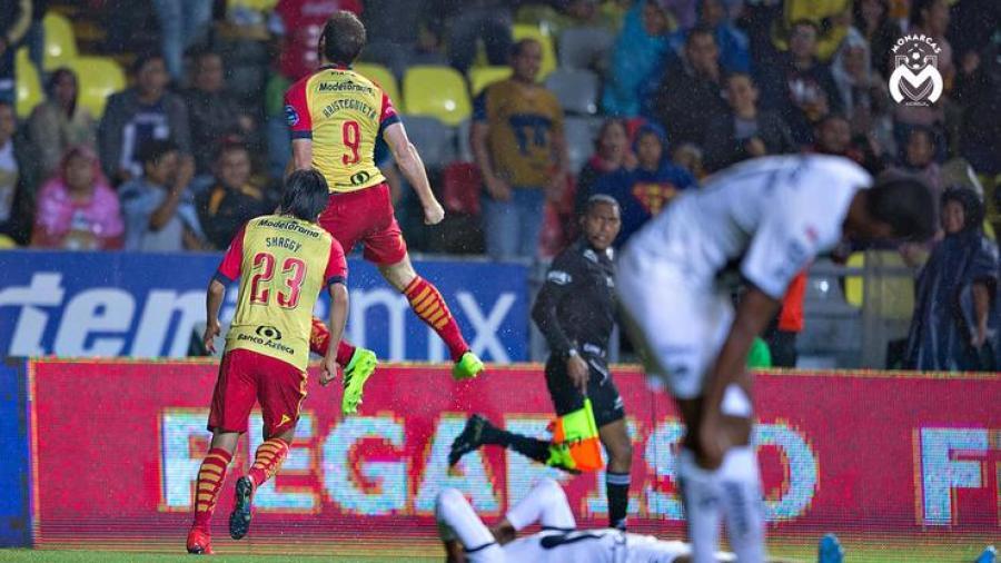 Morelia vence 2-0 a Pumas en fecha seis de Liga MX
