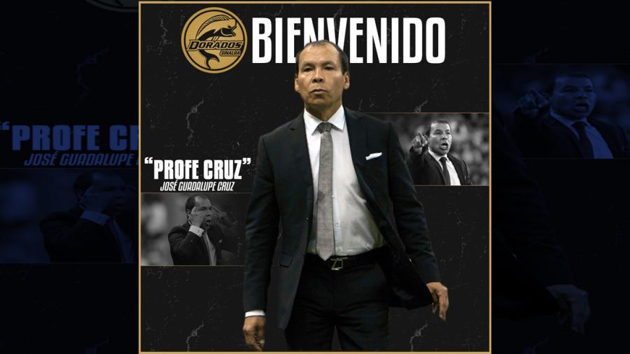 """Tras la salida de Maradona, el """"Profe Cruz"""" es el nuevo DT de Dorados"""