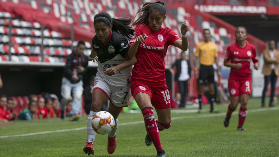 Toluca golea 4-0 a Lobos BUAP en inicio de la Liga MX Femenil
