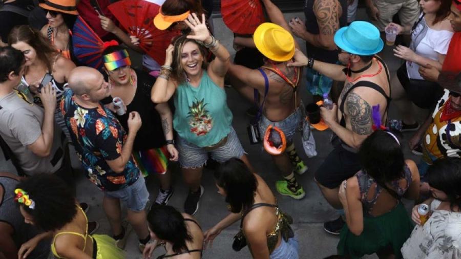 """""""No es no"""", luchan en Sao Paulo por el acoso sexual"""