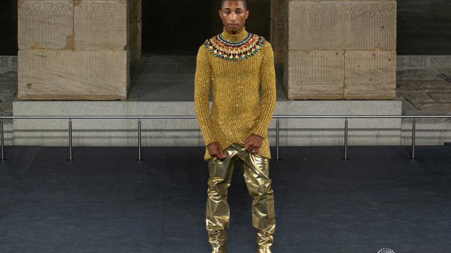 Pharrell Williams en el desfile de Chanel