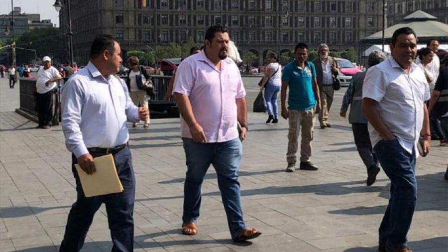AMLO se reúne con CNTE en Palacio Nacional