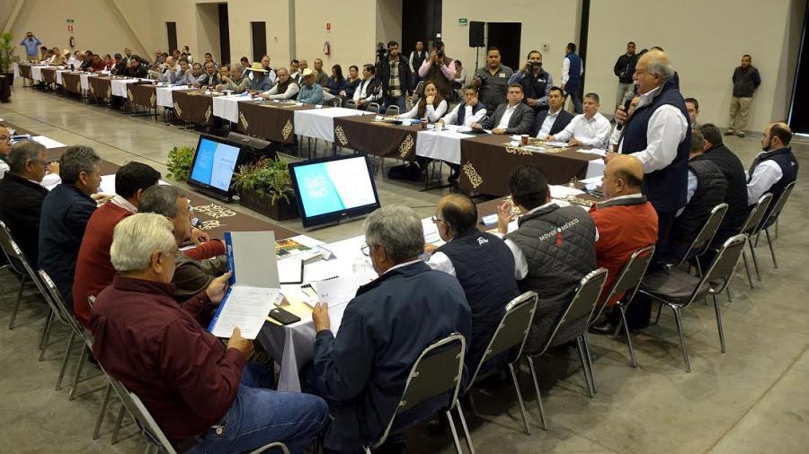 Realizan Consejo Estatal para el Desarrollo Rural Sustentable 2017