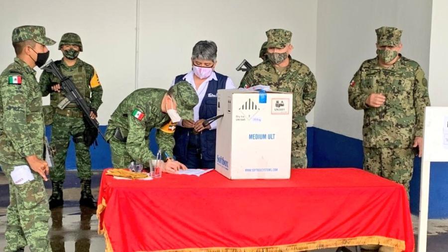 Segundo cargamento de vacunas anticovid arriba a Tamaulipas