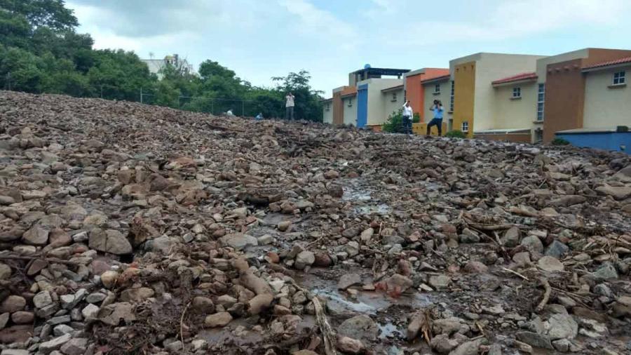 25 viviendas afectadas tras deslave en Jocotepec