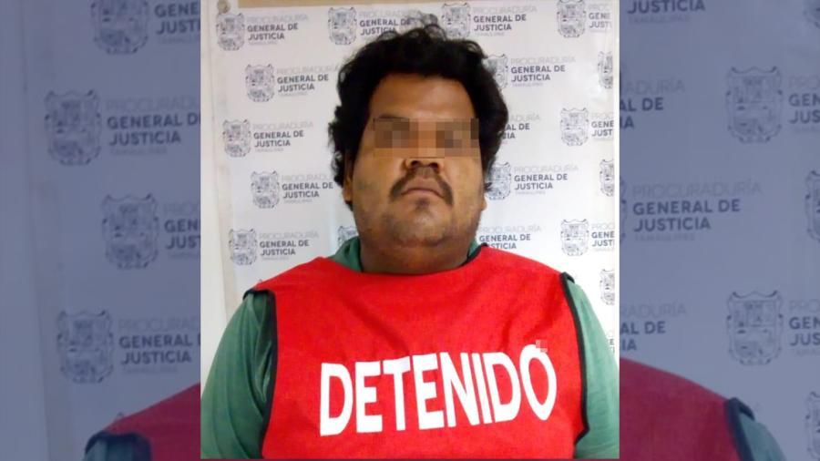 Detiene PGJ Tamaulipas a presunto violador de menor