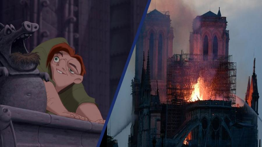 Disney ayudará con donación para la reconstrucción de Notre Dame