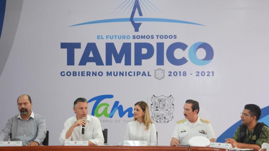 Instalan en Tampico el Consejo Municipal de Protección Civil