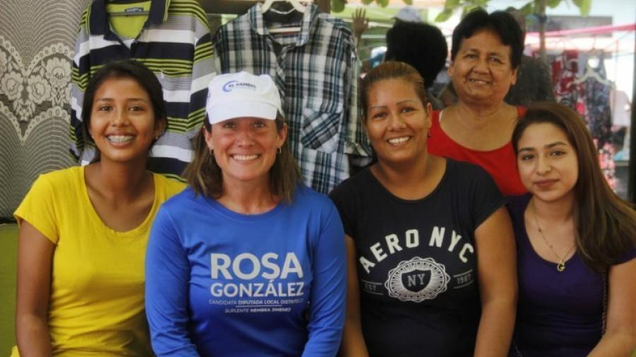 Vamos a trabajar por el bienestar de las mujeres tampiqueñas: Rosa González
