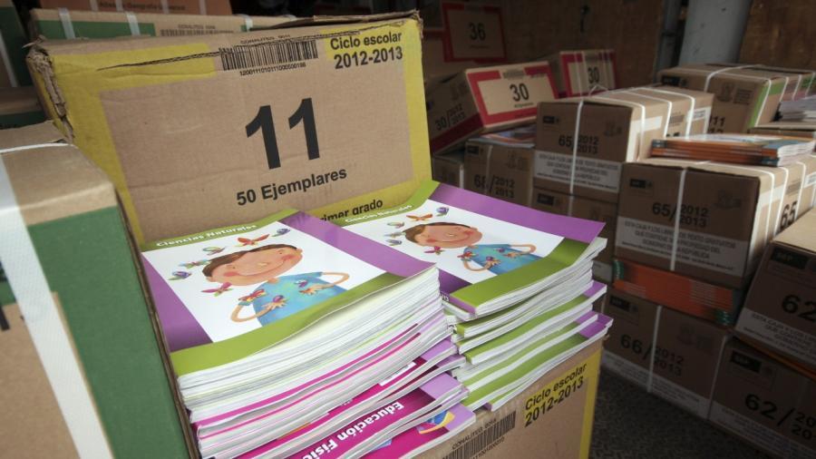 Llegan más de 500 mil libros de texto gratuito a Nuevo Laredo