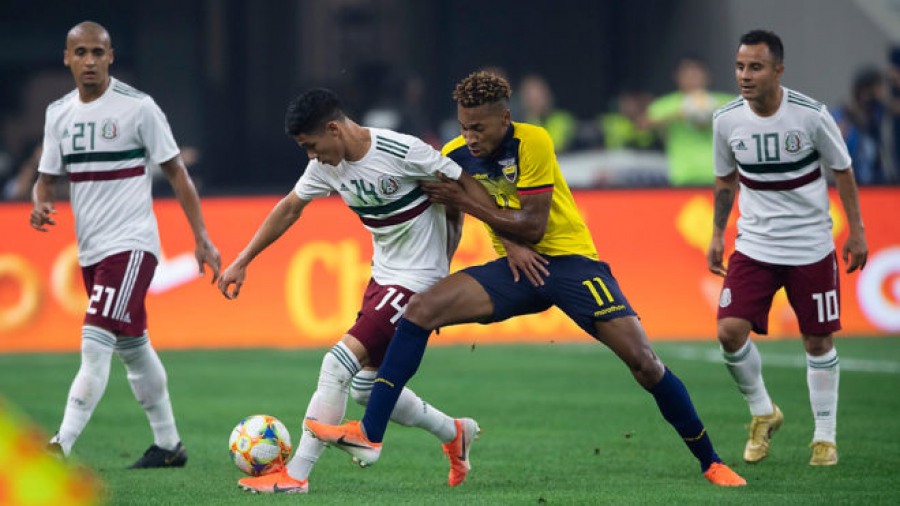 México derrota 3-2 a Ecuador