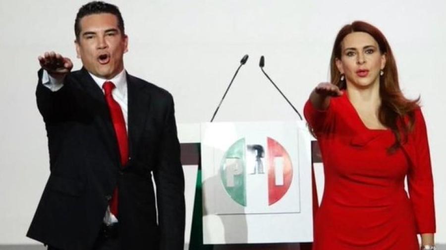 Rinde protesta Alejandro Moreno como dirigente nacional del PRI