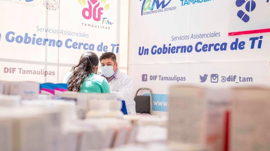 GobTam y DIFTam continúan acercando servicios y apoyos a las familias de Tamaulipas