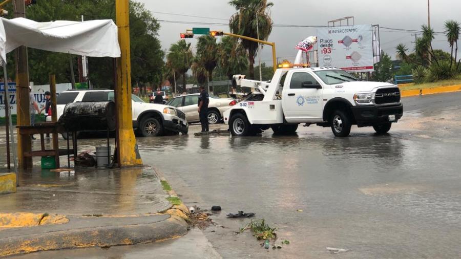 Causa 'Hannah' múltiples daños y más de 11 pulgas de agua en Reynosa