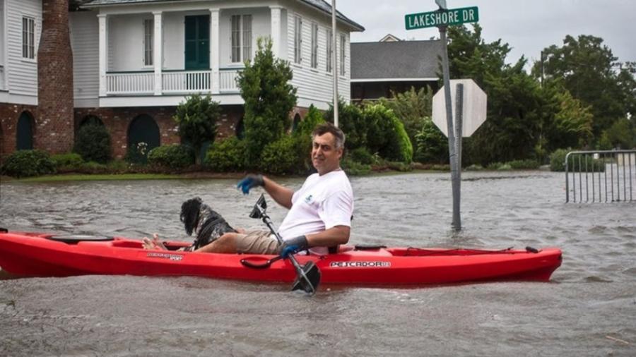 'Barry' se debilita pero mantiene a Luisiana con alerta de inundaciones