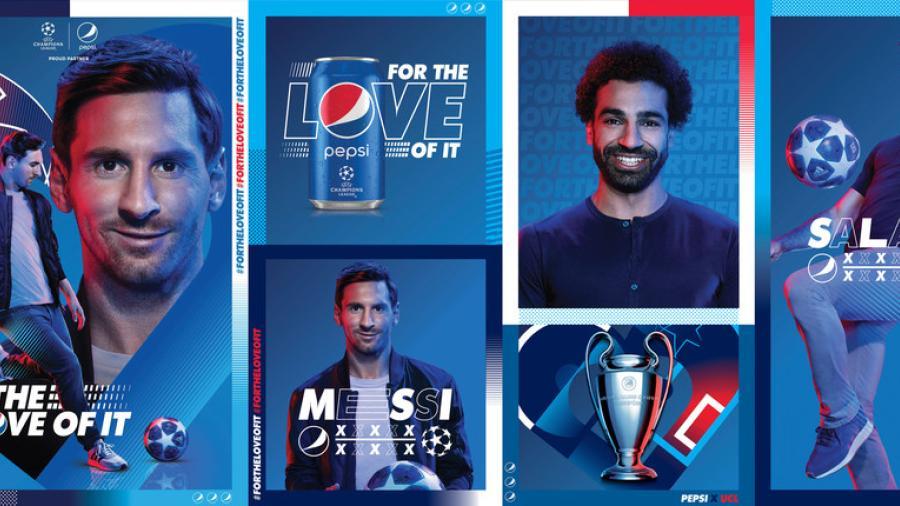 Messi y Mohamed hacen su mejores jugadas por ¿una bebida?