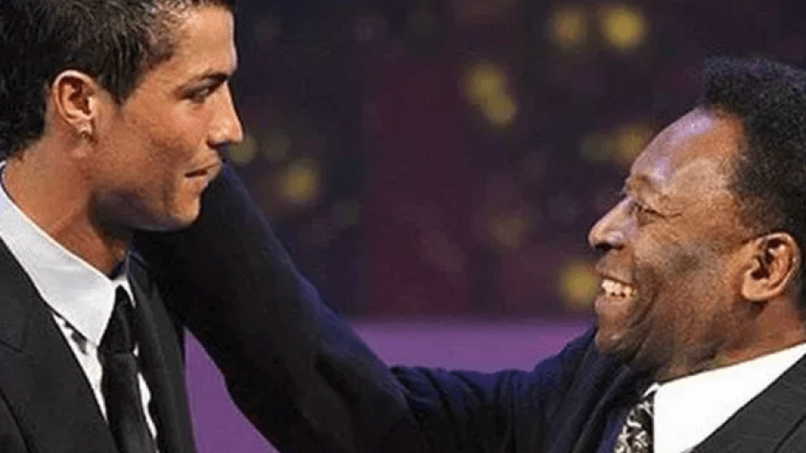 Pelé felicita a Cristiano por su debut con la Juventus