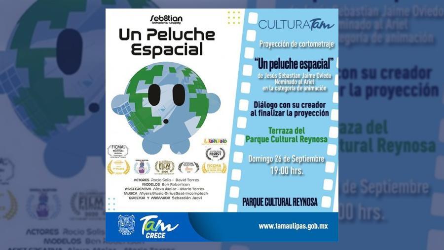 Sebastián Jaime presentará 'Un peluche espacial' y el libro 'La compañía de Perla'