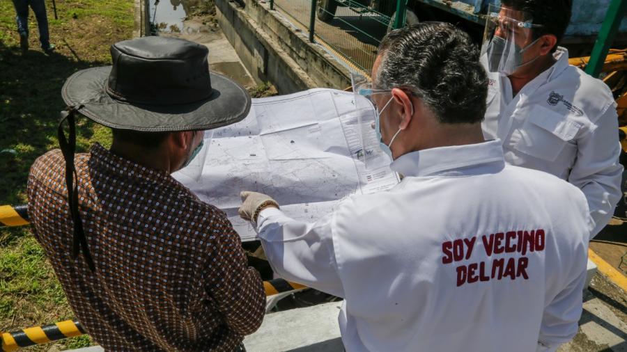 Continúa el rescate de la red pluvial por todo Ciudad Madero