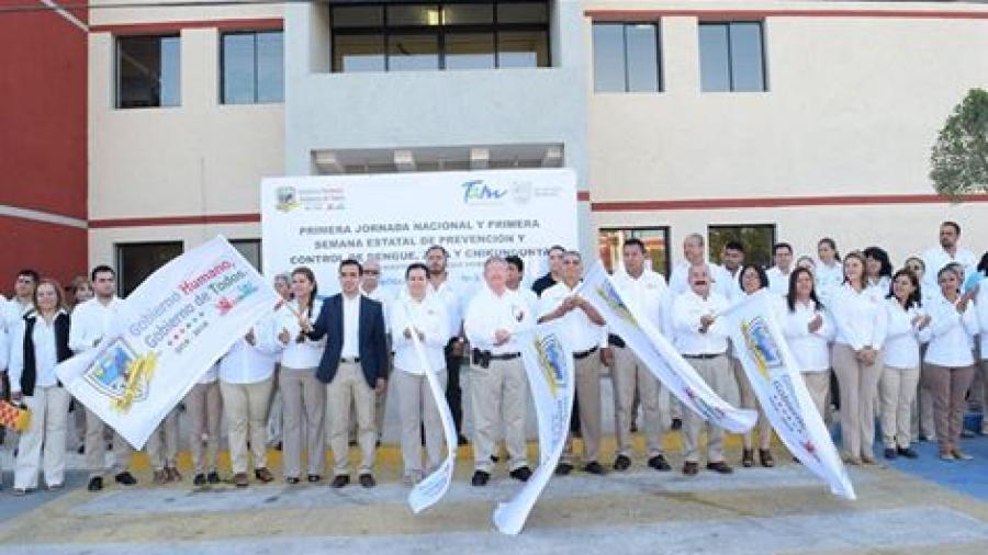Inicia Primera Jornada Nacional contra el dengue