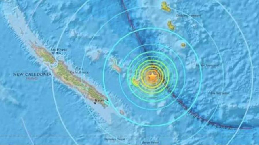 Alertan por tsunami tras sismo de 7.3 grados