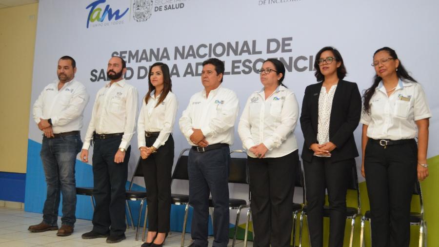 Activa Tamaulipas semana de salud de la adolescencia