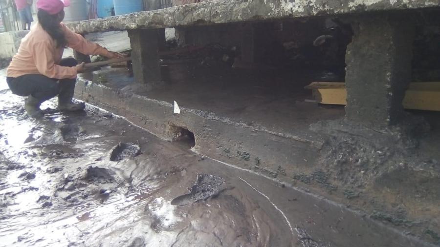 Atiende Madero estancamientos por precipitación
