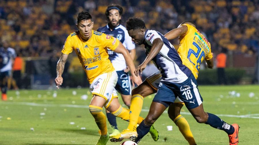 Rayados se impone 1-0 en la final de ida de la Concachampions