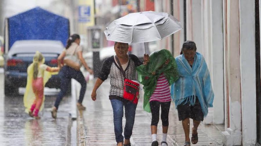 Se prevén lluvias puntuales intensas en  Veracruz, Oaxaca, Tabasco y Chiapas