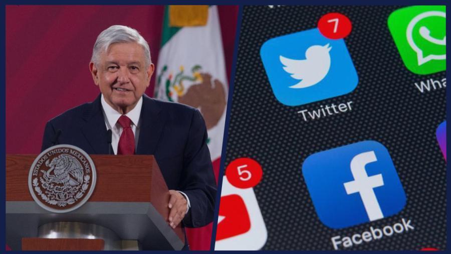 Facebook es más popular, Twitter para clase media y alta: AMLO