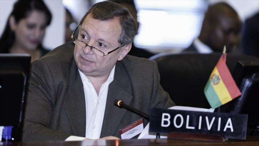 Renuncia el embajador de Bolivia ante la OEA