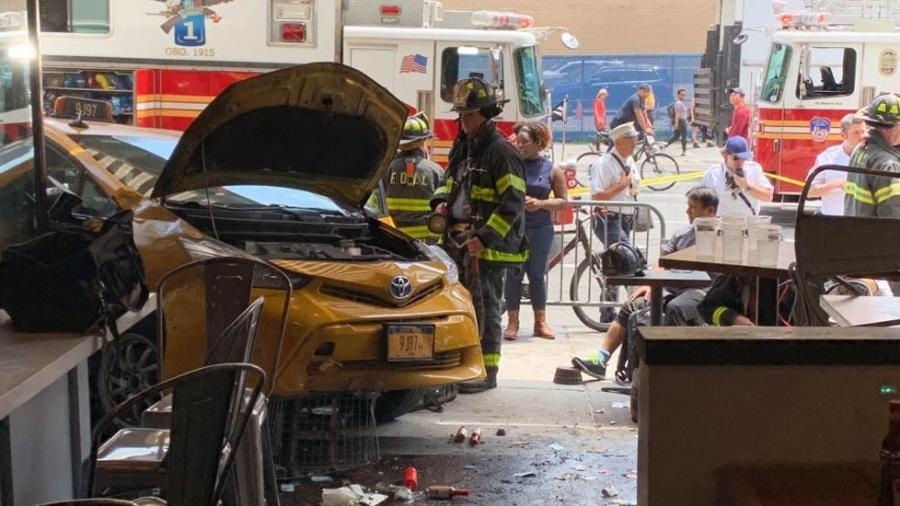 Ocho lesionados tras accidente en Nueva York