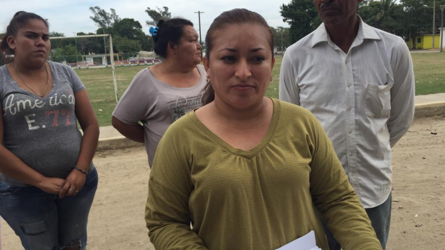Vecinos del sector Miramar, defienden un área verde, ante la falta de información, por obras que ahí se ejecutan