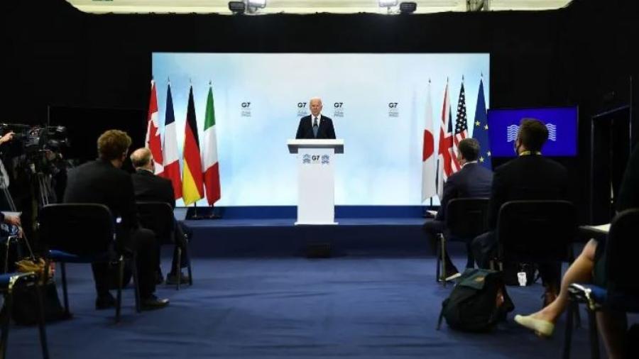 Anuncia G-7 donación de vacunas a países pobres