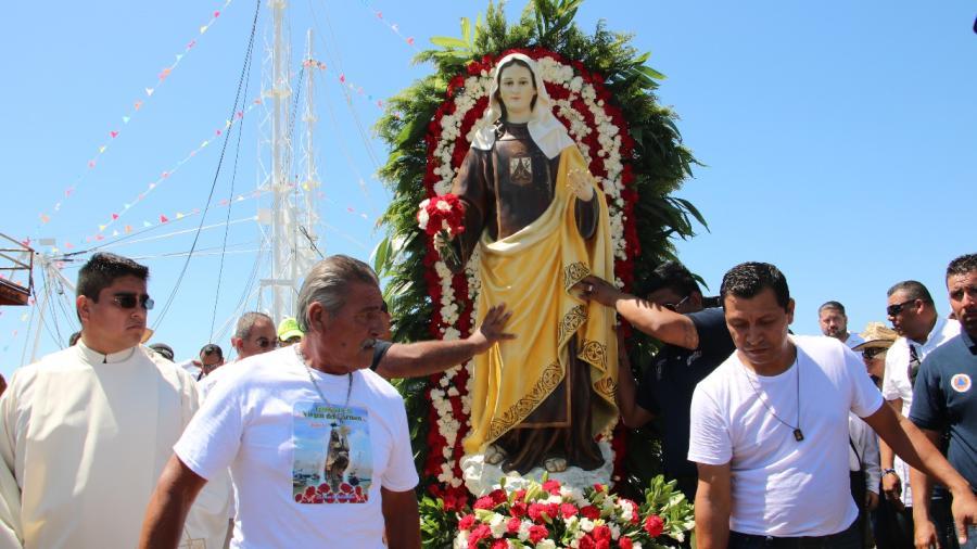 Alistan en Madero festividad regional de la Virgen del Carmen