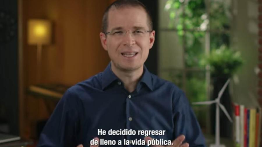 Anuncia Ricardo Anaya su regreso a la política