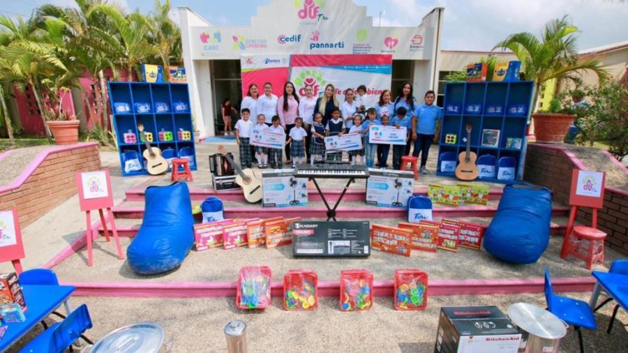 Fortalece DIF Altamira aprendizaje de niños y niñas