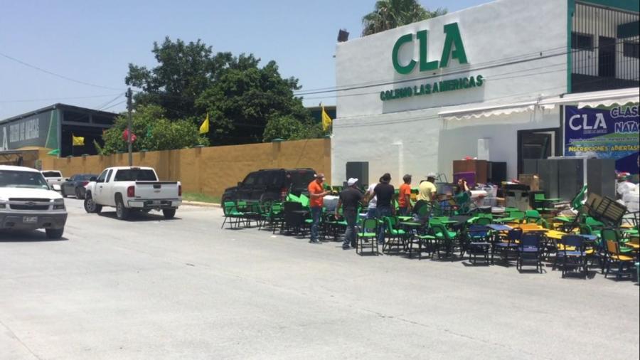 Desalojan Colegio Las Américas en Reynosa