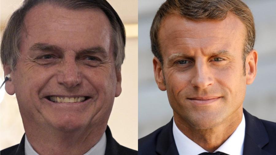 Macron acusa a Bolsonaro de mentir en sus compromisos ambientales