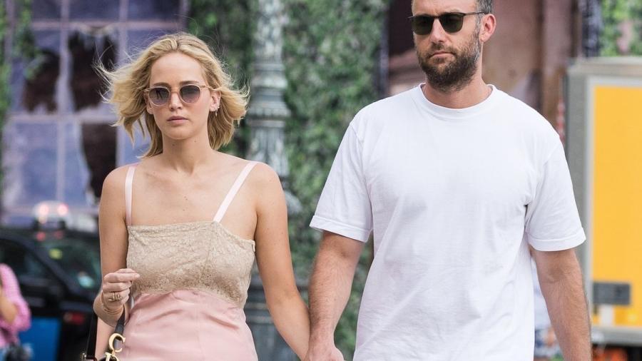 Jennifer Lawrence se casa en secreto con Cooke Maroney