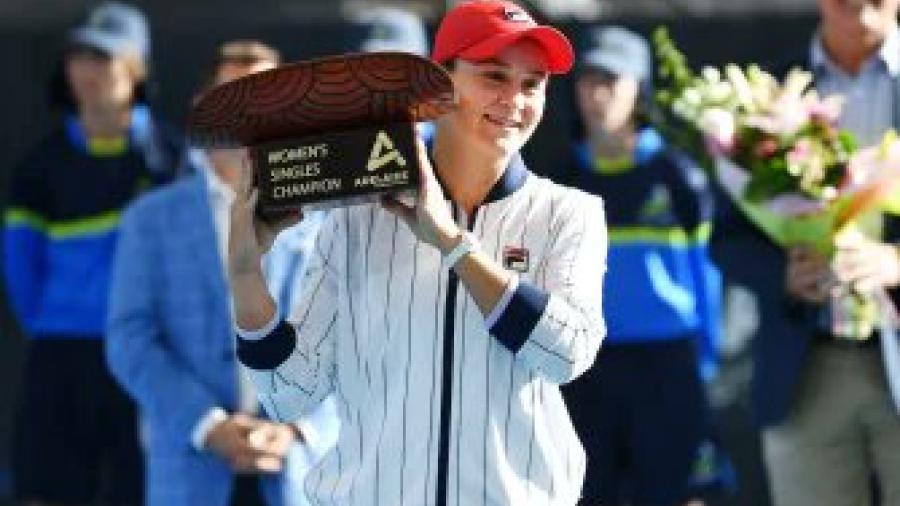Ashleigh Barty gana el título de Adelaida