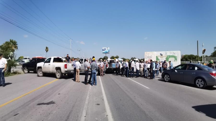 Productores bloquearán nuevamente carretera Río Bravo-Reynosa