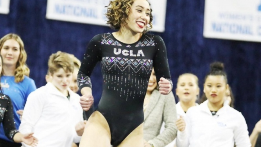 La asombrosa rutina de 10 de la gimnasta Katelyn Ohashi