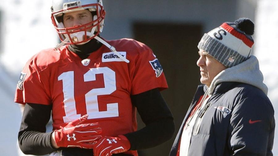 Tom Brady no entrena con los Pats por lesión