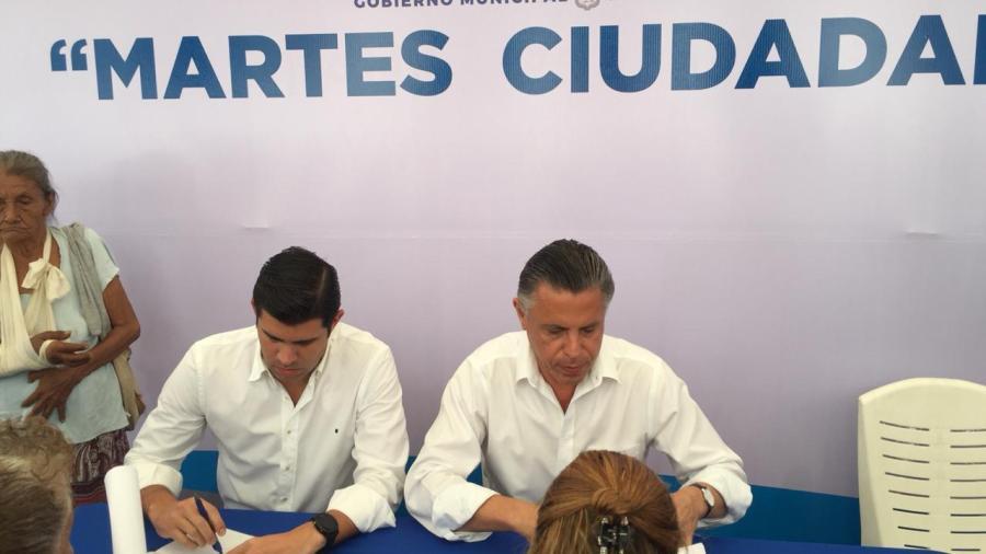 Encabeza Chucho Nader el Primer Martes Ciudadano de la Administración