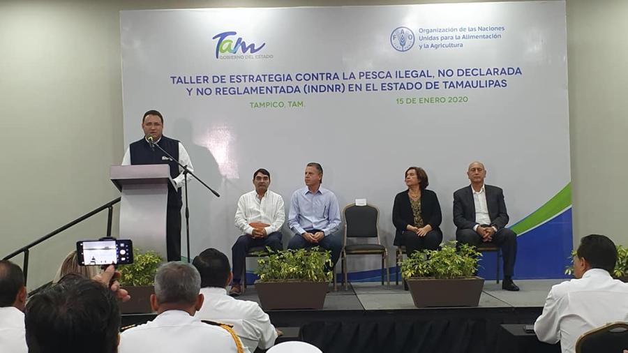 Es Tamaulipas sede de Taller de estrategia contra la pesca Ilegal, no declarada y no reglamentada