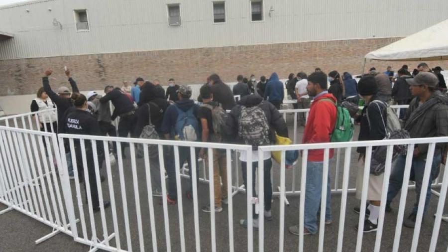 Registran disturbios en albergue de migrantes en Piedras Negras