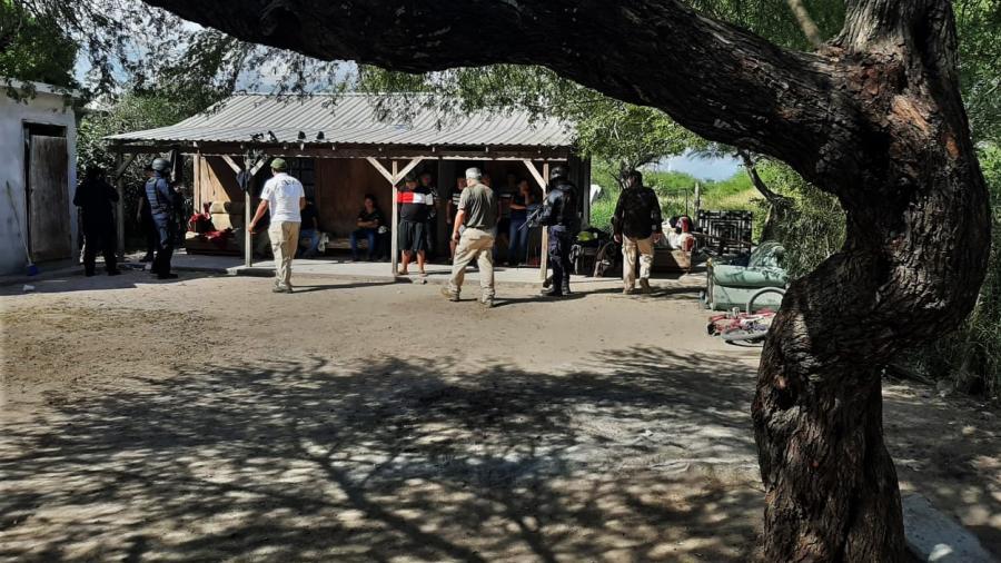 Policía Estatal rescató a 13 migrantes en Matamoros